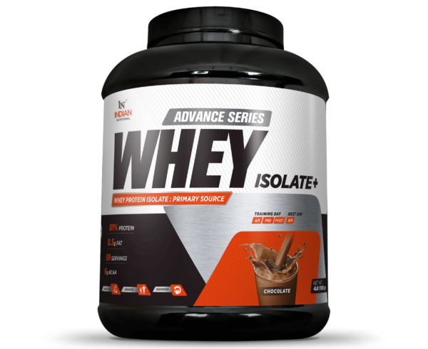 Advance Series Whey Isolate+ - indiannutritional