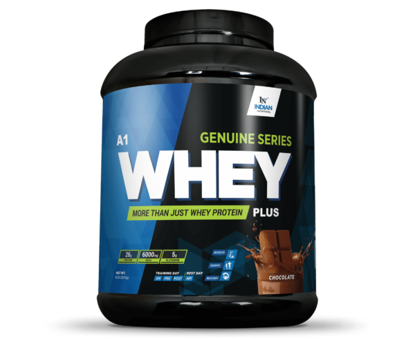 genuine series whey plus 5lb - indiannutritional